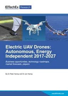 Electric UAV Drones: Autonomous, Energy Independent 2017-2027