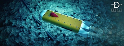 Technology licensing agreement for underwater robotics