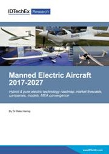 Manned Electric Aircraft 2017-2027