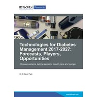 Technologies for Diabetes Management 2017-2027: Forecasts, Players, Opportunities - Electronic (1-5 users)