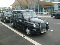 London taxi pollution