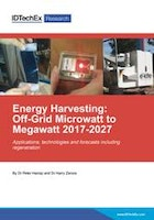 Energy Harvesting: Off-Grid Microwatt to Megawatt 2017-2027
