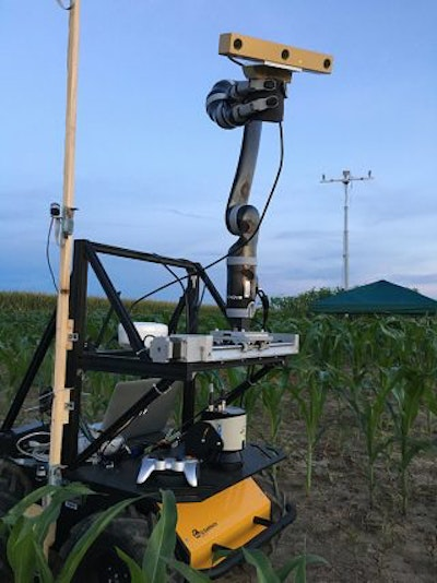 Robotics aid in the study of corn and drought tolerance