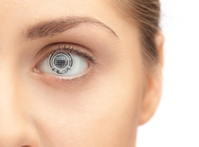 Bio-sensing contact lens could someday measure bodily functions