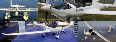 Manned Electric Aircraft: Progress and Potential