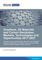 Graphene, 2D Materials and Carbon Nanotubes: Markets, Technologies and Opportunities 2017-2027