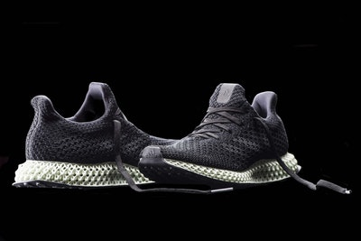 Adidas shapes 4D shoe soles using light and heat
