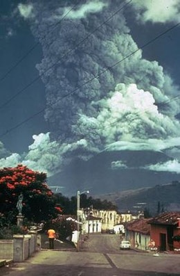 Drones used to analyse ash clouds from Guatemalan volcano
