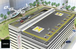Uber partnership to design chargers for flying cars