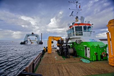 Integrated maintenance offering for offshore marine renewables