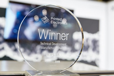 IDTechEx Printed Electronics Europe 2017 Award Winners
