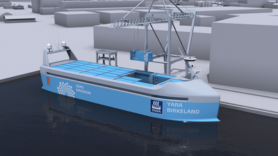 World's first autonomous and zero emissions ship