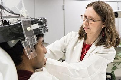 A wearable brain scanner