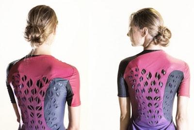 Researchers design moisture-responsive workout suit