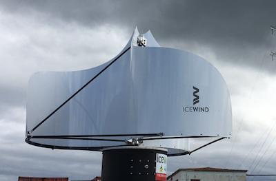New look stackable wind turbine