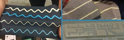 Stretchable electronics: near term commercial success stories