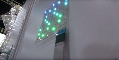 Large area printed flexible lighting