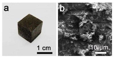 Chemists create 3D printed graphene foam