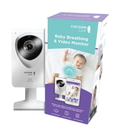 Intelligent baby breathing video monitor uses computer vision