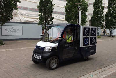Autonomous grocery delivery trials in Greenwich