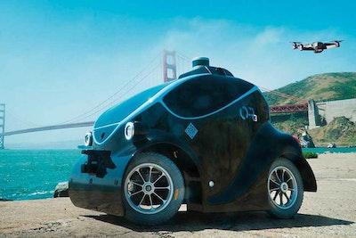 Dubai welcomes first autonomous police car