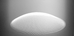 Researchers create very small sensor using 'white graphene'