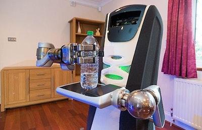 Universal concept to regulate robot behaviour