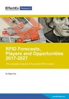 RFID Forecasts, Players and Opportunities 2017-2027