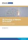 3D Printing Metals 2018-2028