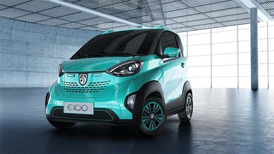 SAIC-GM-Wuling launches its first electric vehicle