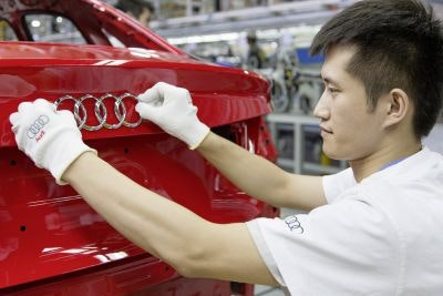 Audi working on advanced solar car bodywork