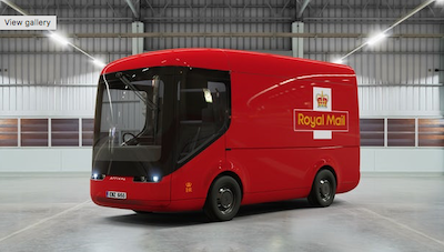 Royal Mail trialling fully electric commercial vehicles