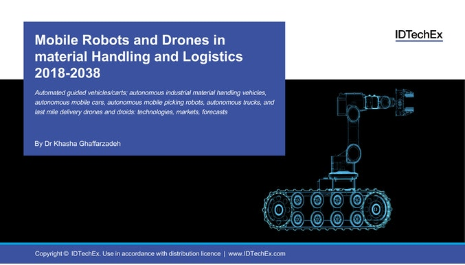 Mobile Robots and Drones in Material Handling and Logistics 2018-2038
