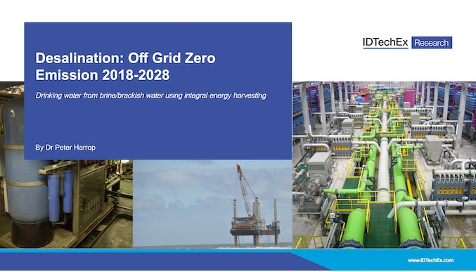 Desalination: Off Grid Zero Emission 2018-2028
