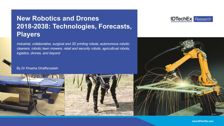 New Robotics And Drones 2018 2038 Technologies Forecasts Players