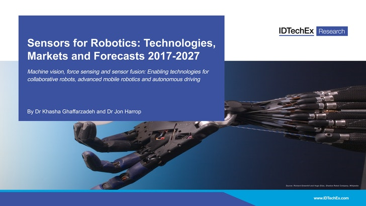Sensors For Robotics Technologies Markets And Forecasts 2017 2027