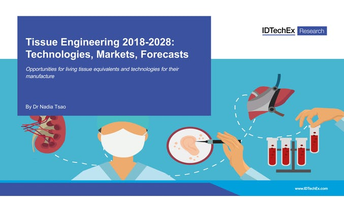 Tissue Engineering 2018-2028: Technologies, Markets, Forecasts