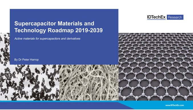 Supercapacitor Materials and Technology Roadmap 2019-2039