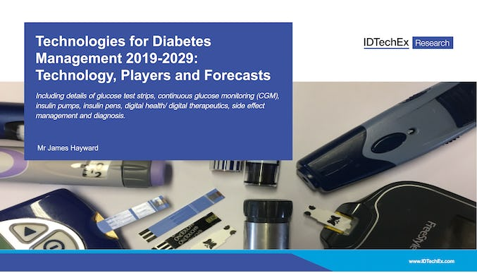 Technologies for Diabetes Management 2019-2029: Technology, Players and Forecasts
