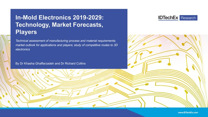 In-Mold Electronics 2019-2029: Technology, Market Forecasts, Players
