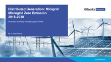 Distributed Generation: Minigrid Microgrid Zero Emission 2018-2038