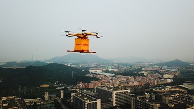 DHL launches regular fully-automated urban drone delivery service