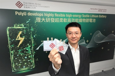 Highly Flexible High-energy Textile Lithium Battery