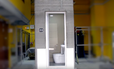 3D-print a bathroom in a day
