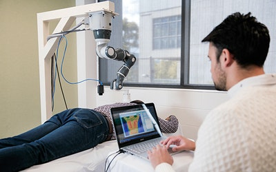 Training robots to relieve chronic pain