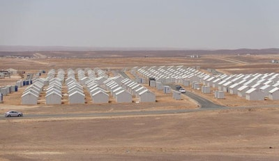 Clean power supply for refugee camps in Jordan