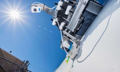 Crawling robots, drones detect damage to save wind blades