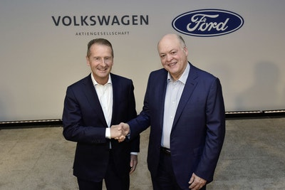 Ford and Volkswagen expand their global collaboration