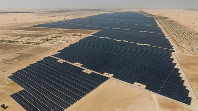 World's largest solar project in Abu Dhabi