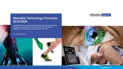 IDTechEx Research releases definitive report on Wearable Technology